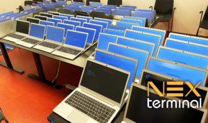 NEXLaptops setup af 100 stk.